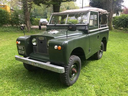 Land Rover Series 2a 1968 88 SOLD (picture 1 of 6)