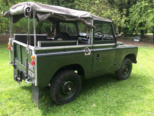 Land Rover Series 2a 1968 88 SOLD (picture 2 of 6)