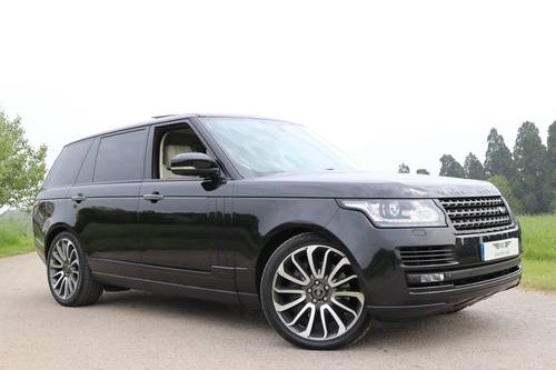 2014 RANGE ROVER 4.4 SDV8 AUTOBIOGRAPHY LWB For Sale (picture 1 of 6)