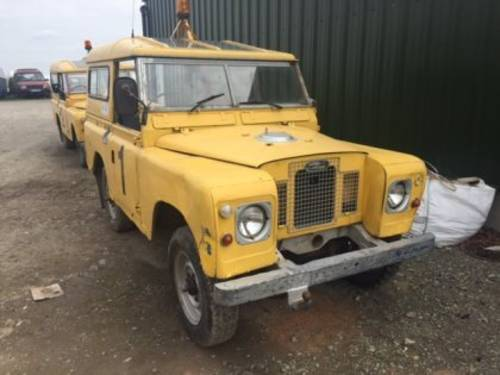 1971 LAND ROVER For Sale by Auction (picture 1 of 1)