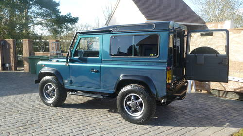 1999 50th DEFENDER SOLD (picture 4 of 6)