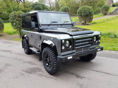 2012 62 PLATE LAND ROVER DEFENDER 90 COUNTY AUTOBIOGRAPHY EDITION For Sale (picture 1 of 6)