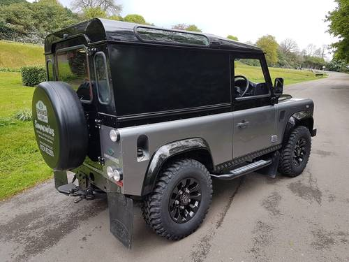 2012 62 PLATE LAND ROVER DEFENDER 90 COUNTY AUTOBIOGRAPHY EDITION For Sale (picture 2 of 6)
