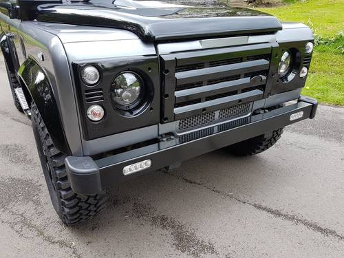 2012 62 PLATE LAND ROVER DEFENDER 90 COUNTY AUTOBIOGRAPHY EDITION For Sale (picture 5 of 6)