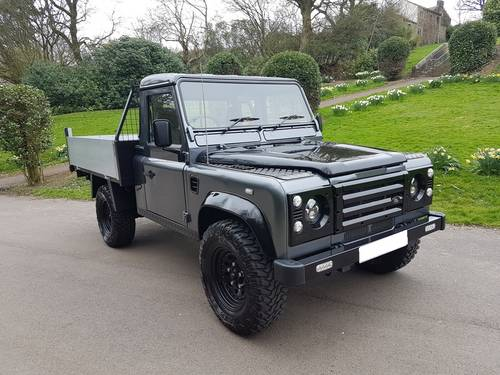 2006 56 PLATE LAND ROVER DEFENDER TD5 110 TIPPER TRUCK For Sale (picture 1 of 6)
