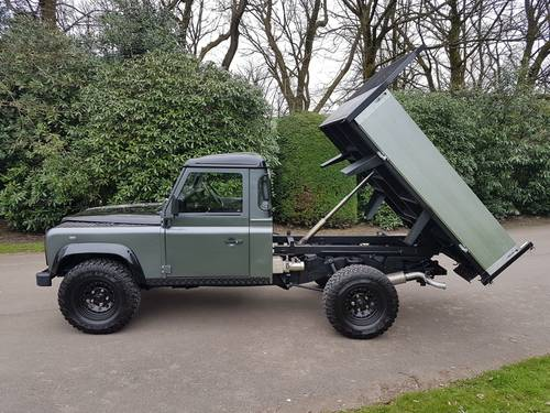 2006 56 PLATE LAND ROVER DEFENDER TD5 110 TIPPER TRUCK For Sale (picture 6 of 6)