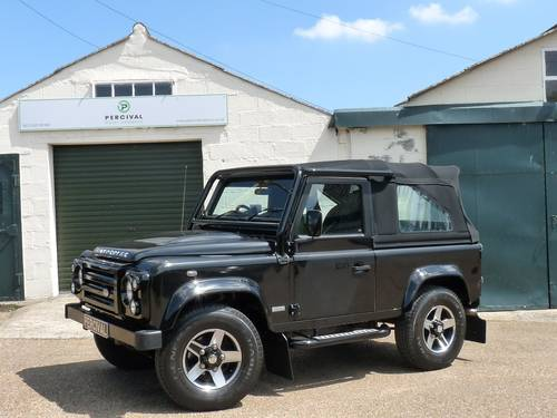 2009 Defender 90 SVX 60th Anniversary Soft top SOLD (picture 1 of 6)