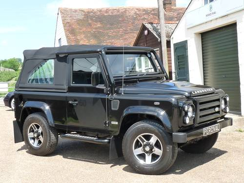 2009 Defender 90 SVX 60th Anniversary Soft top SOLD (picture 5 of 6)