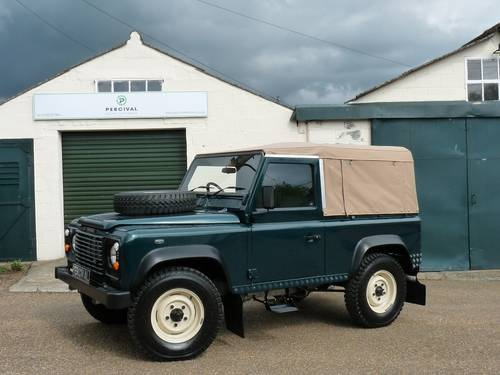 2000 Land Rover Defender 90 Soft top SOLD (picture 1 of 6)
