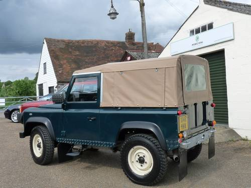 2000 Land Rover Defender 90 Soft top SOLD (picture 2 of 6)