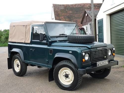 2000 Land Rover Defender 90 Soft top SOLD (picture 6 of 6)