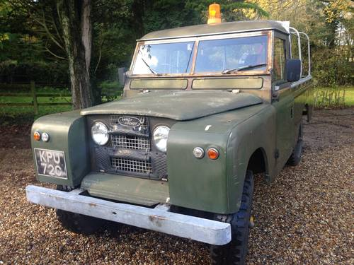 1965 Land Rover Series 2a 109 SOLD (picture 1 of 6)