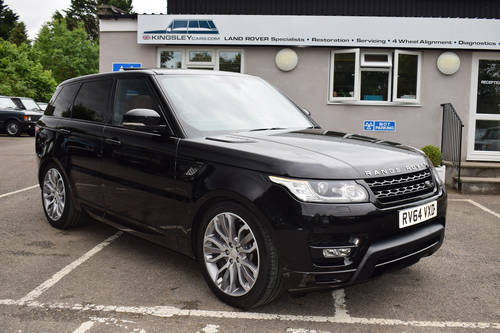 2014 64 LAND ROVER RANGE ROVER SPORT 3.0 SDV6 HSE DYNAMIC For Sale (picture 1 of 6)