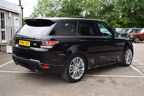 2014 64 LAND ROVER RANGE ROVER SPORT 3.0 SDV6 HSE DYNAMIC For Sale (picture 2 of 6)
