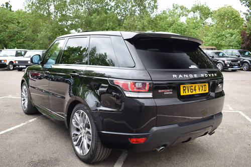 2014 64 LAND ROVER RANGE ROVER SPORT 3.0 SDV6 HSE DYNAMIC For Sale (picture 4 of 6)