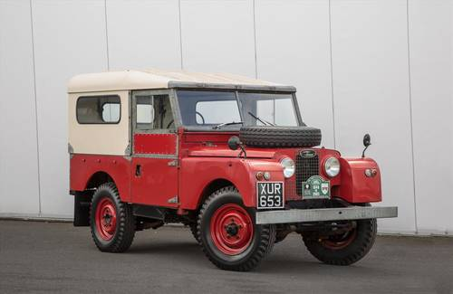 1956 Land Rover Series 1 86 -26072 Miles-Outstanding Example SOLD (picture 1 of 6)