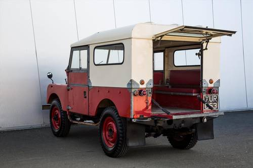 1956 Land Rover Series 1 86 -26072 Miles-Outstanding Example SOLD (picture 3 of 6)