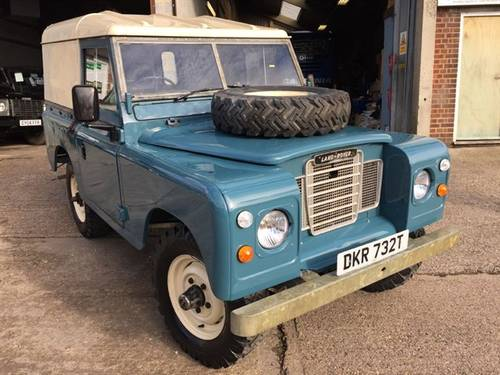1979 land rover series 3 swb full rebuild on galvanized chassis For Sale (picture 1 of 6)