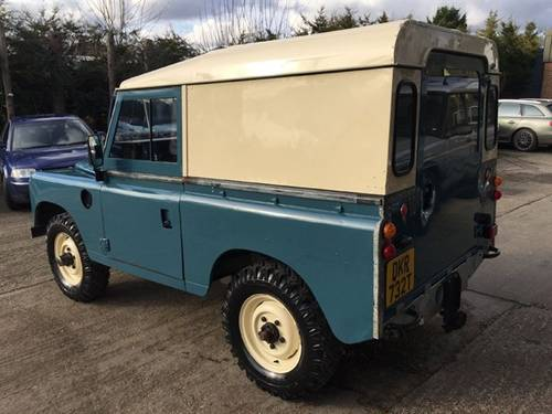 1979 land rover series 3 swb full rebuild on galvanized chassis For Sale (picture 4 of 6)