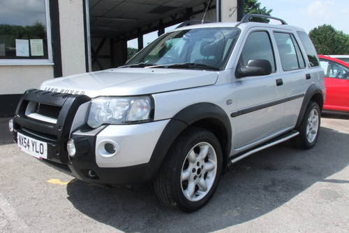 2004 LAND ROVER FREELANDER 1.8 XEI STATION WAGON 5DR Manual SOLD (picture 1 of 6)
