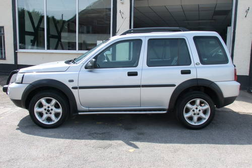 2004 LAND ROVER FREELANDER 1.8 XEI STATION WAGON 5DR Manual SOLD (picture 2 of 6)