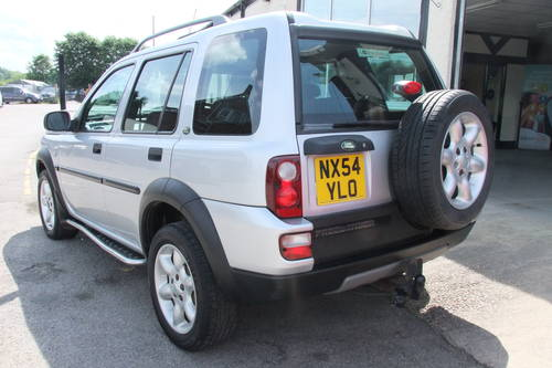 2004 LAND ROVER FREELANDER 1.8 XEI STATION WAGON 5DR Manual SOLD (picture 3 of 6)
