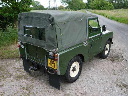 1978 Land Rover Series III 88 Soft Top SOLD (picture 3 of 6)