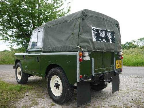 1978 Land Rover Series III 88 Soft Top SOLD (picture 4 of 6)