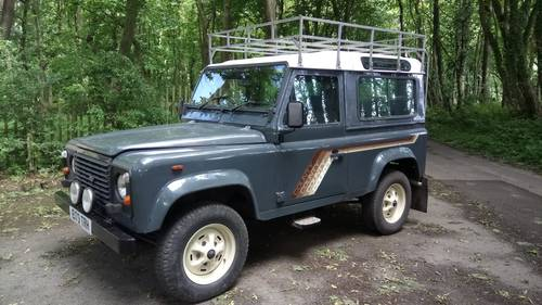 1987 Land Rover 90 County TDI SOLD (picture 1 of 6)