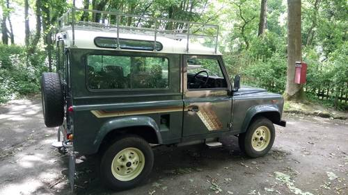 1987 Land Rover 90 County TDI SOLD (picture 3 of 6)