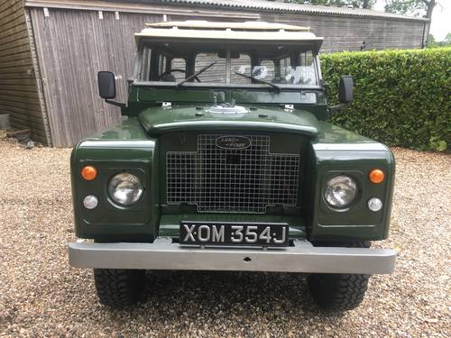 1971 Land Rover Series 2a 88 SOLD (picture 1 of 6)