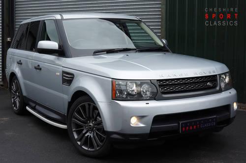 2011 Range Rover Sport HSE 3.0 TDV6, 84k, Black Leather, FSH. SOLD (picture 1 of 6)