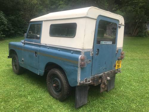 "1964 Land Rover Series 2a IIa 88"" Breconshire Reg PEU 381, Petrol SOLD (picture 2 of 6)"
