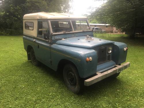 "1964 Land Rover Series 2a IIa 88"" Breconshire Reg PEU 381, Petrol SOLD (picture 3 of 6)"