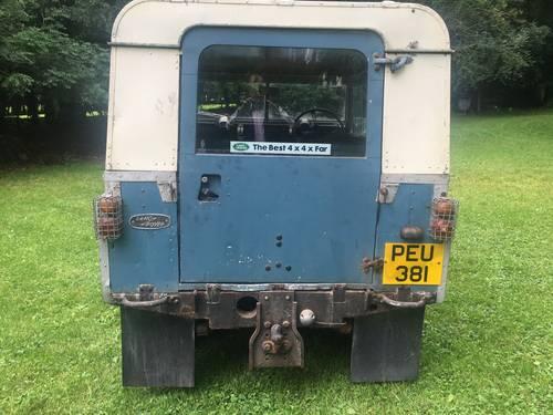 "1964 Land Rover Series 2a IIa 88"" Breconshire Reg PEU 381, Petrol SOLD (picture 5 of 6)"