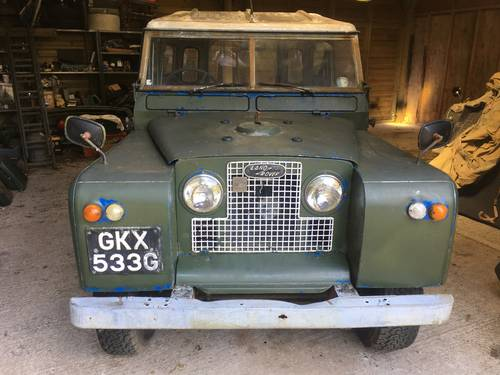 1969 Land Rover Series 2a IIa 88 SOLD (picture 1 of 6)