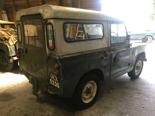 1969 Land Rover Series 2a IIa 88 SOLD (picture 2 of 6)