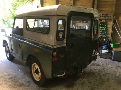 1969 Land Rover Series 2a IIa 88 SOLD (picture 3 of 6)