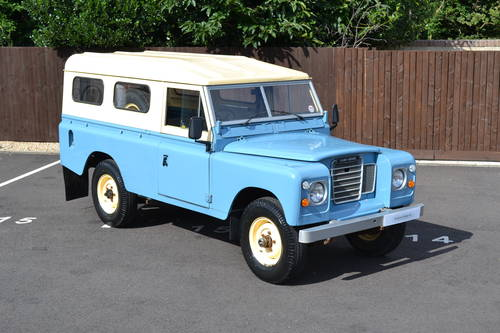 1979 LAND ROVER SERIES 3 For Sale (picture 1 of 6)