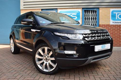 2011 Range Rover Evoque SD4 Prestige Auto 5dr SOLD (picture 1 of 6)