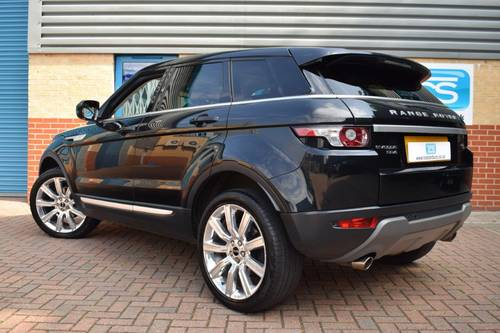 2011 Range Rover Evoque SD4 Prestige Auto 5dr SOLD (picture 2 of 6)