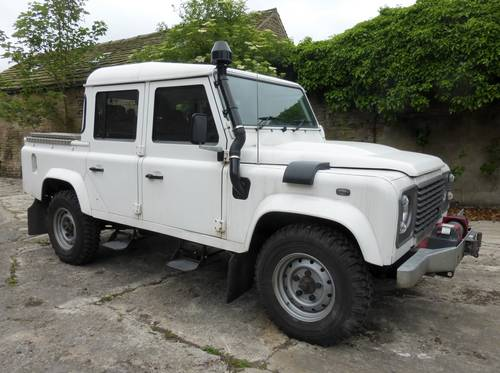2011 LANDROVER DEFENDER PUMA 110 TDCI DOUBLE CAB COUNTY          For Sale (picture 3 of 6)
