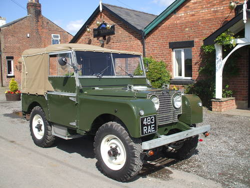 1951 Land Rover Series One  SOLD (picture 1 of 6)