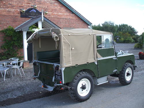 1951 Land Rover Series One  SOLD (picture 6 of 6)