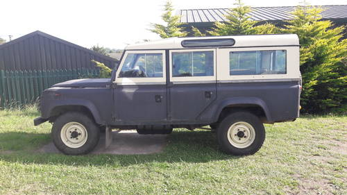 1984 LAND ROVER 110 V8  SOLD (picture 1 of 6)