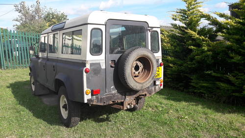 1984 LAND ROVER 110 V8  SOLD (picture 3 of 6)