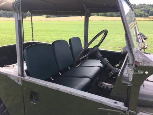 1955 LAND ROVER SERIES 1  SOLD (picture 1 of 3)