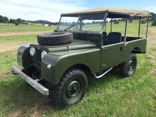 1955 LAND ROVER SERIES 1  SOLD (picture 2 of 3)