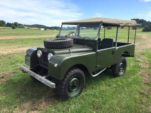 1955 LAND ROVER SERIES 1  SOLD (picture 3 of 3)