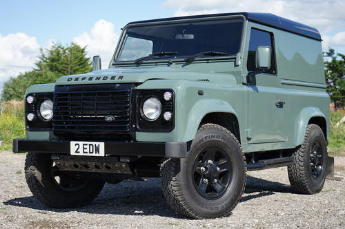 2008 Land Rover Defender 90 2.4 TDCi Hard Top NO VAT SOLD (picture 1 of 6)